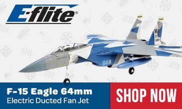 E-flite F15 Eagle Jet
