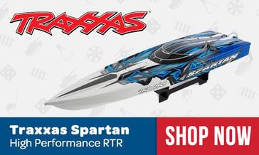 Traxxas Spartan Race Boat
