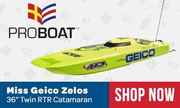 Pro Boat Miss Geico Zelos