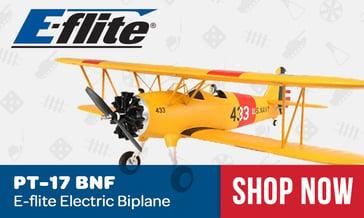 Eflite PT-17 Basic Electric Biplane