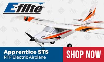 E-flite Apprentice STS Airplane